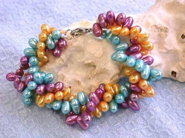 517: Fresh Water Pearl Bracelet