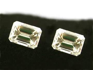 1.48 Ct. Loose Pair Emerald Diamonds