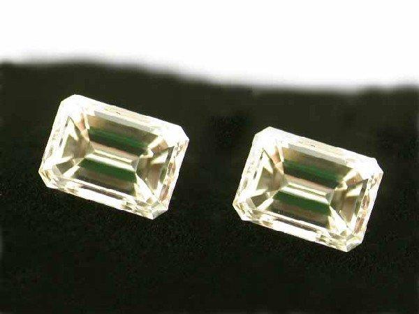 1.48 Ct. Loose Pair Emerald Diamonds
