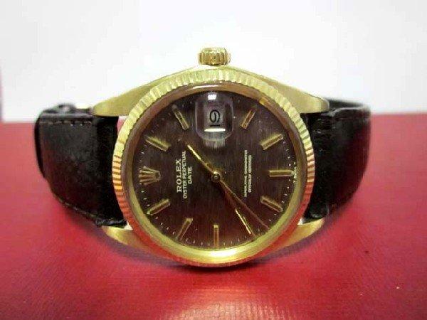 Rolex OYSTER PERPETUAL Date Watch