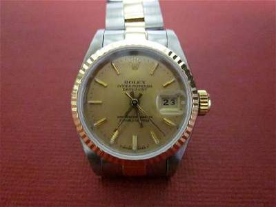 Rolex OYSTER PERPETUAL Date Just Watch