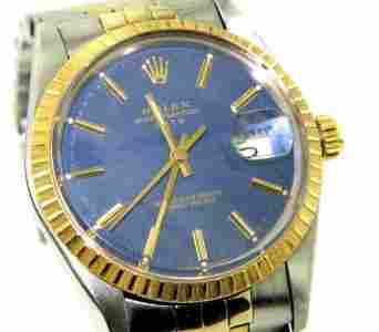 Rolex Oyster Perpetual Datejust Mens Watch