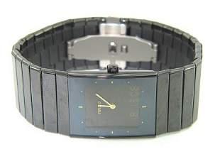 Rado Men's Ceramic Men's Black Ceramic Watch