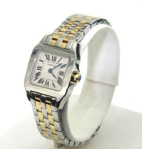 Cartier 18K Yellow gold /Stainless Steel Watch