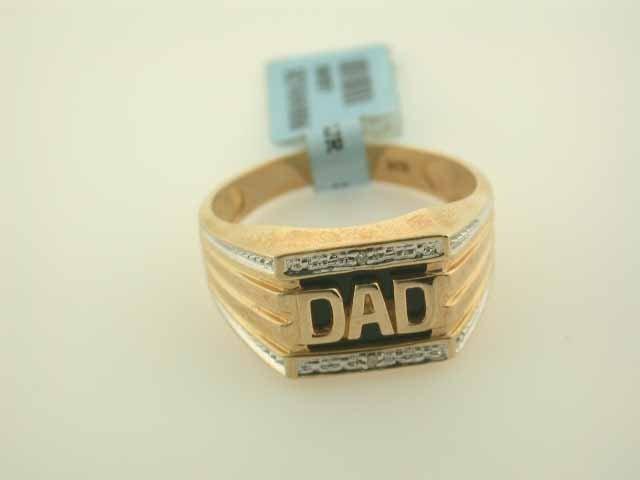 Men's 10k Yellow Gold Ring