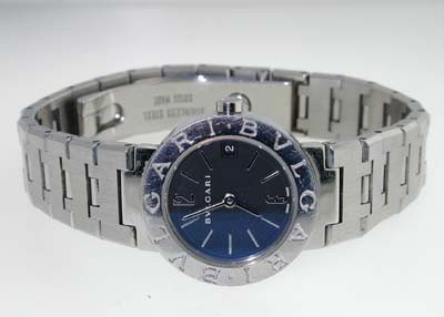 3A: Bvlgari Stainless Steel Watch