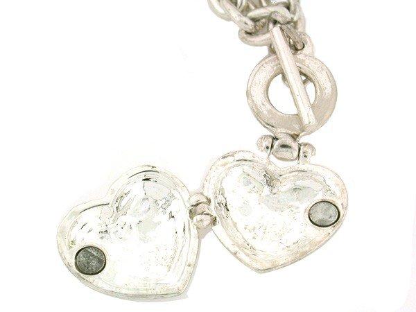 318: Tiffany Heart Locket and Necklace - 3