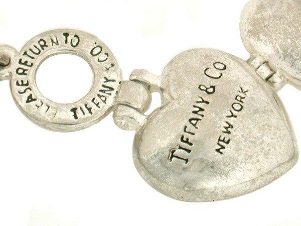 318: Tiffany Heart Locket and Necklace - 4