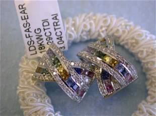 18k Ladies' Fashion Earrings