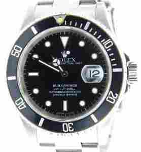 Rolex Submariner Oyster Perpetual Date Watch