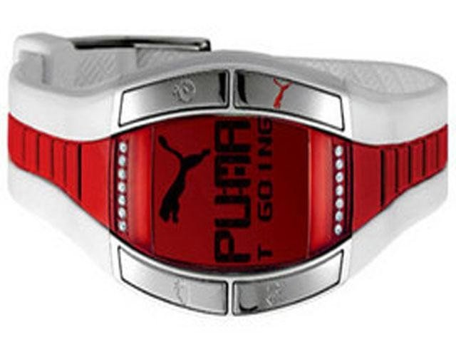 Puma Active Collection Fluctuation White and Red Wo