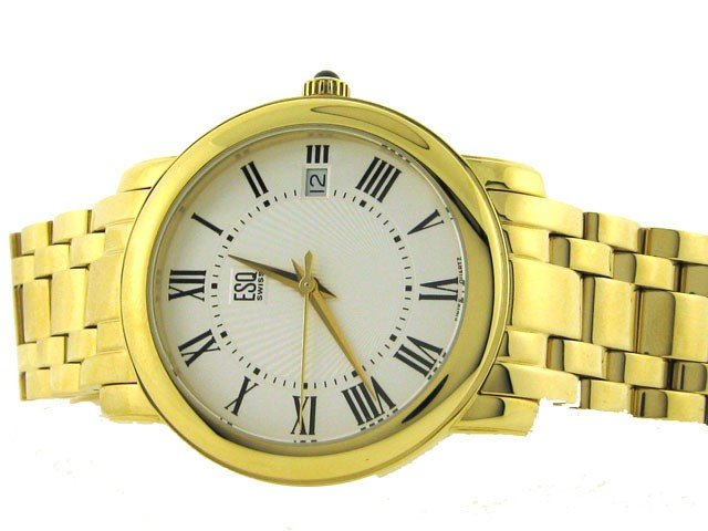 ESQ by Movado Men's 'Filmore' Goldplated Stainless Stee
