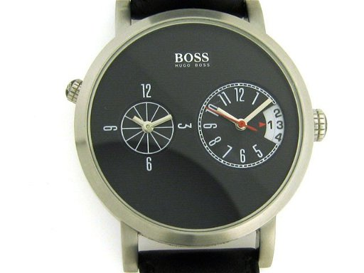 8ceae22b5 Hugo Boss stainless steel dual-time watch Watch - May 18, 2011 ...