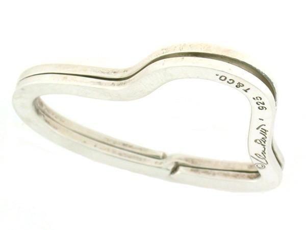 """Tiffany""""s Elsa Peretti Open Heart Key Ring - 3"""