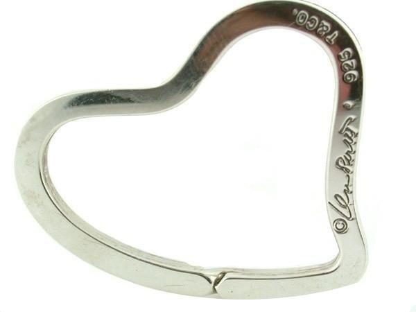 """Tiffany""""s Elsa Peretti Open Heart Key Ring - 4"""