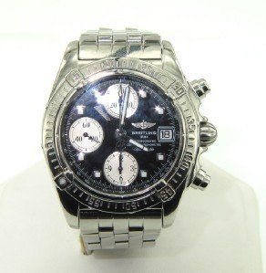 Breitling Chronograph Mens Wristwatch