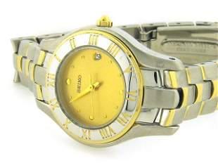 Seiko Two Tone Watch