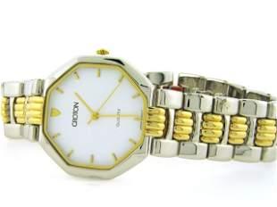 Croton Men's 23k Gold Plated Dress Watch