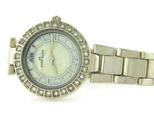 Anne Klein Women's 10-8671WTSV Silvertone Dress Watch
