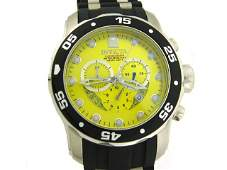 Invicta Men's 6978 Pro Diver Collection Chronograph Yel