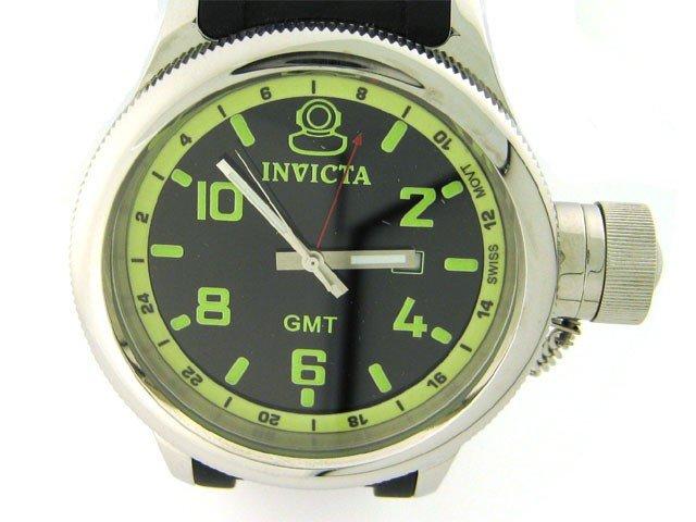 Invicta Men's 6608 Signature Collection GMT Black Ru