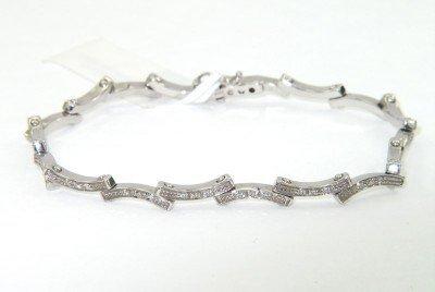 Barbero & Ricci 18K White Gold, Diamond Bracelet
