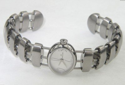 Milus Stainless Steel Bangle Watch