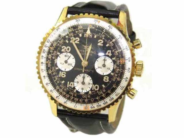 Breitling 18K Gold / Stainless Steel Chronograph Watch