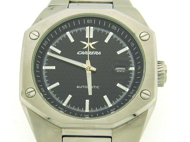 Carrera Men's CW66491.403011 Sprint Automatic Stainless