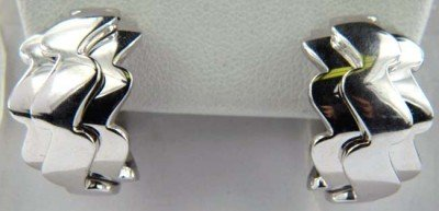 Van Cleef & Arpels 18K white gold earring