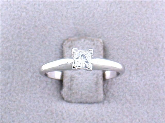 14k White Gold Diamond Ring (0.39 ct)