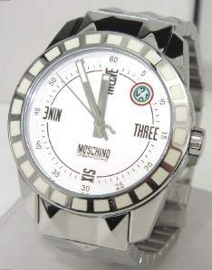 Moschino Stainless Steel Watch