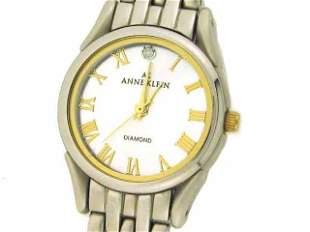 Anne Klein Two Tone Round Watch 10-4639TTDI