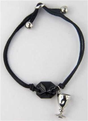Baccarat Silver/Black Onyx Bracelet