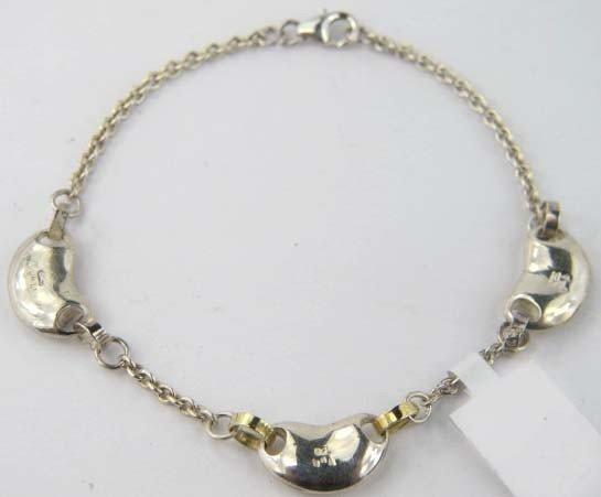 18K Gold/Silver Bracelet