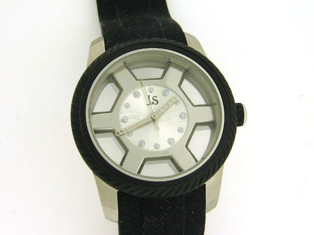 Joshua and Sons Men's The HUB Silicone Watch