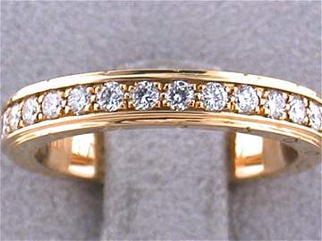 18ky Gold MAUBOUSSIN Diamond Ring