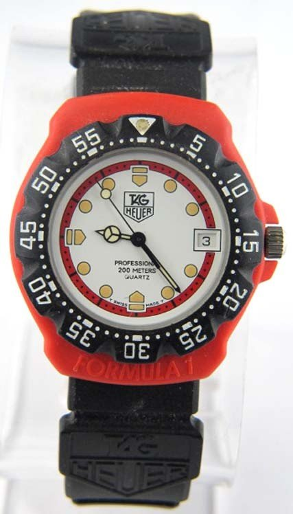 Tag Heuer Plastic Rubber  Watch