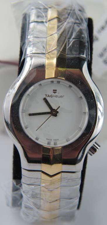 Tag Heuer 2-Toned 18K Gold Stainless Steel Watch
