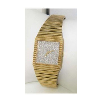 Baume & Mercier 14K Yellow Gold Diamond Watch