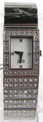 D&G Stainless Steel Diamond Watch