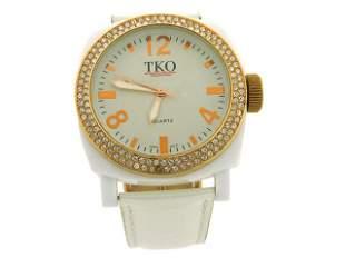 TKO ORLOGI Women's Milano Ice Swarovski Crystal Watch