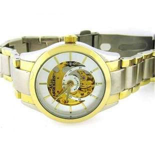 AK Anne Klein Women's Automatic Two-Tone Dress Watch