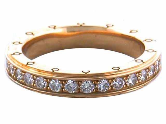 2D: 18ky Gold MAUBOUSSIN Diamond Ring