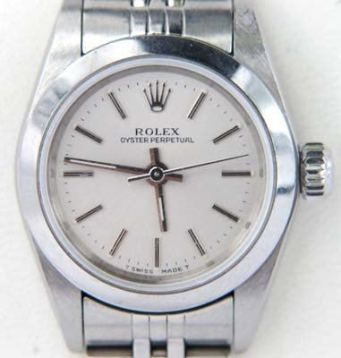 Rolex Oyster Perpetual Stainless Steel Watch