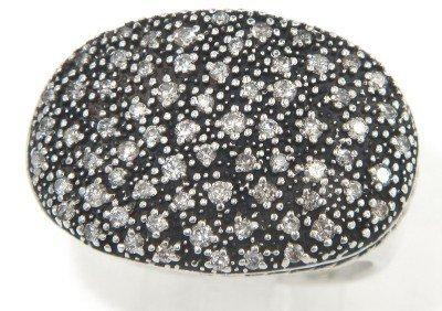 David Yurman Silver Diamond Ring