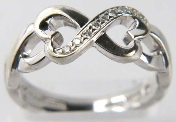 Tiffany & Co Picasso 18K White Gold Diamond Ring
