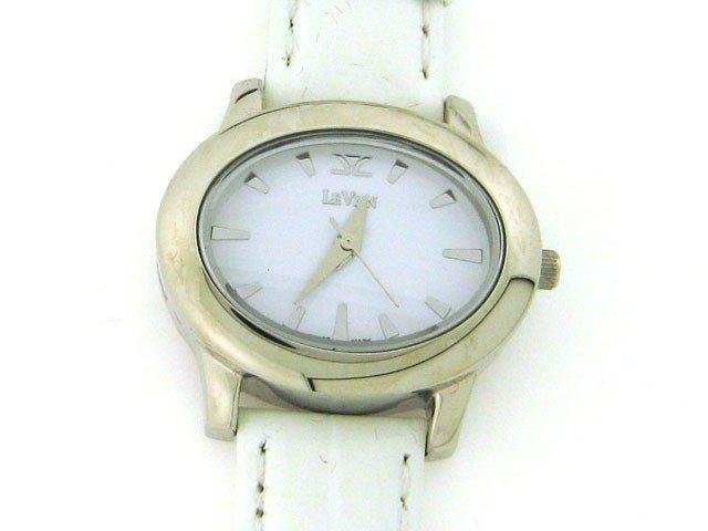 94A: Le Vian Women's De Lano Mini White Watch