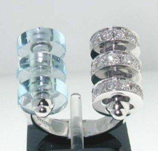 94C: 18K White Gold Diamond Ring