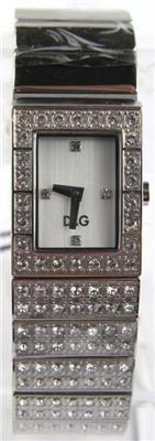 1: D&G Stainless Steel Diamond Watch